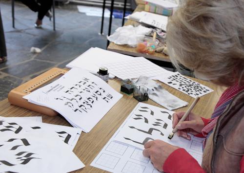 Conteville (Eure) Stage de calligraphie
