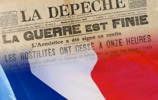 Conteville (Eure) Célébration Armistice 1918