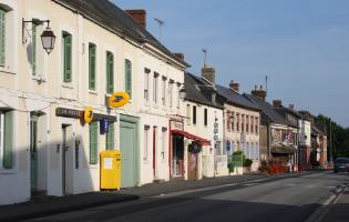 Conteville (Eure) Bar-Tabac, Boulangerie, La Poste