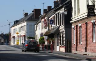 Conteville (Eure) Bar-Tabac, Boulangerie, La Poste, Salon de coiffure