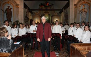 Conteville (Eure) Concert de JP Harmonie à l'Eglise