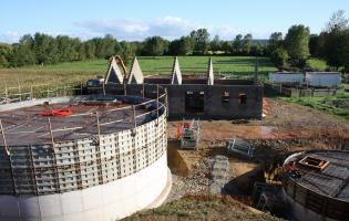 Conteville (Eure) Construction d'une nouvelle station d'épuration