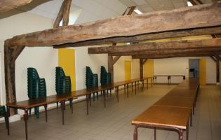 Conteville (Eure) La salle Rever - Intérieur