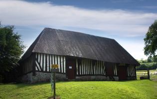 Conteville (Eure) Le pressoir du XVIIIème
